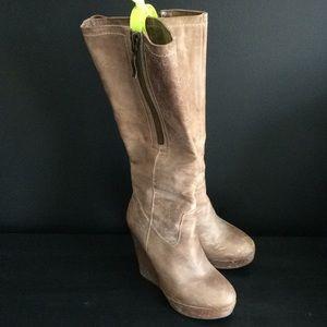 Steve Madden Brix foldover boots